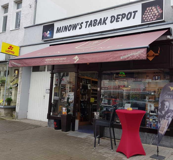 Lichtenrade Berlinde Minows Tabak Depot Wird In Diesem Jahr 120