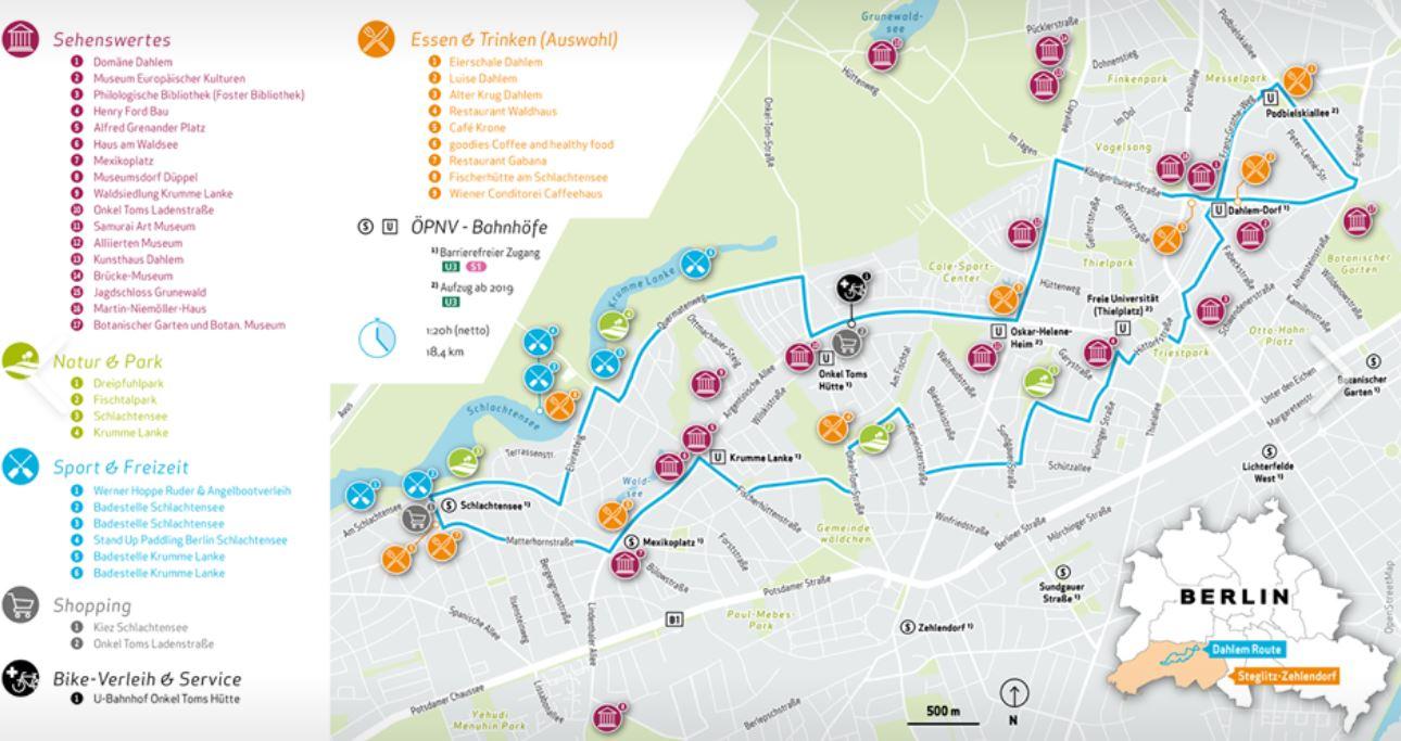 Karte Berlin Lichtenrade.Lichtenrade Berlin De Eroffnung Der Dahlem Route In Steglitz