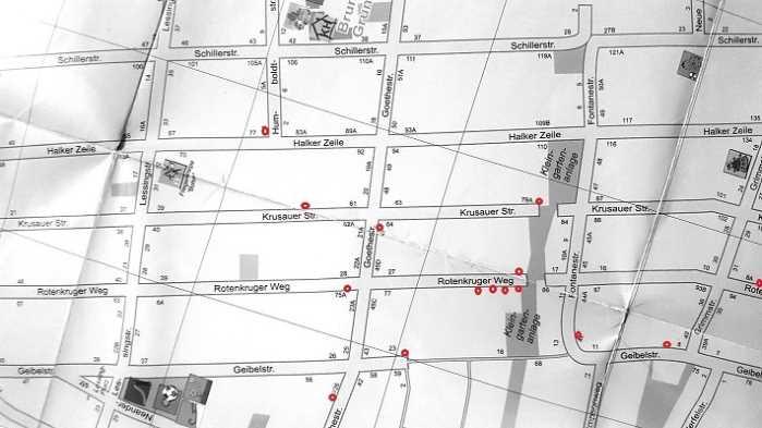 Karte Berlin Lichtenrade.Lichtenrade Berlin De 2 Dezember Garagentrodel Im Lichtenrader
